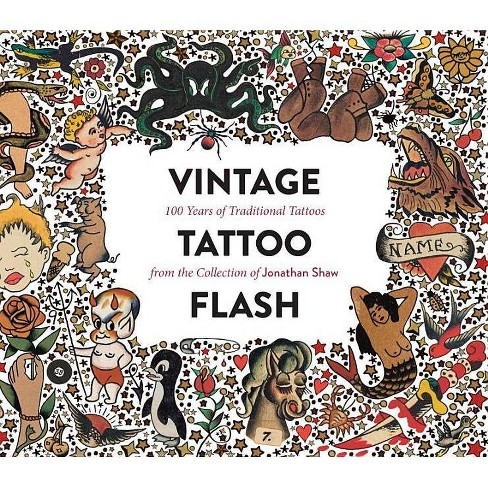 Vintage Tattoo Flash - by  Jonathan Shaw (Hardcover) - image 1 of 1
