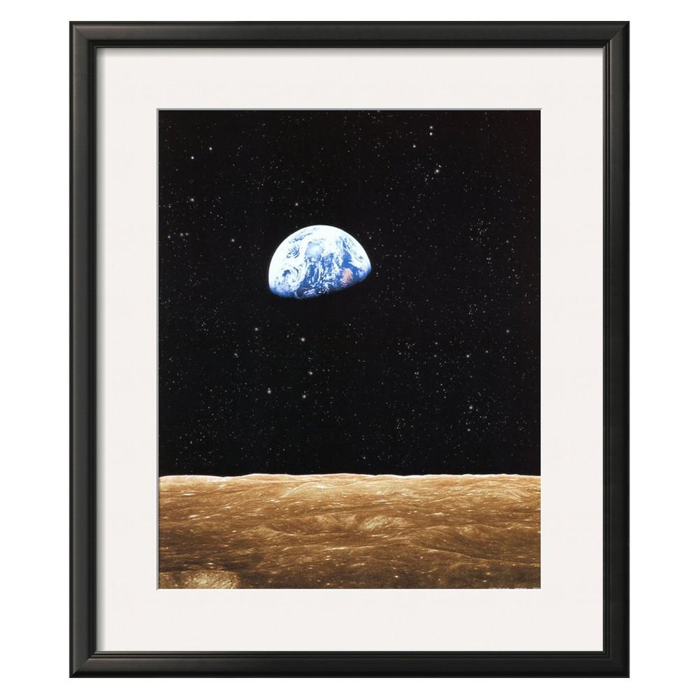 Art.com - Earth Rise from Moon - Framed Print
