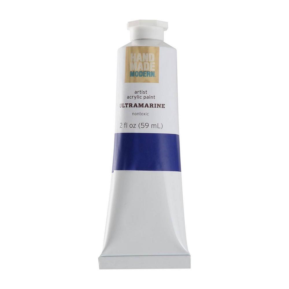 Image of 2 fl oz Acrylic Craft Paint - Hand Made Modern Ultramarine
