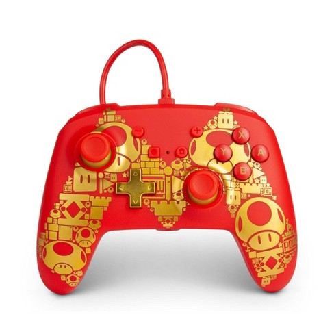 PowerA Wired Gaming Controller for Nintendo Switch Mario M - Red - image 1 of 4