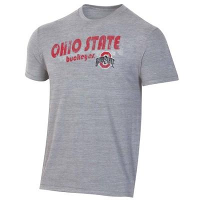 NCAA Ohio State Buckeyes Men's Short Sleeve Crew Neck T-Shirt