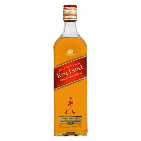 Johnnie Walker Red Label Scotch Whiskey - 750ml Bottle - image 1 of 2