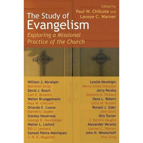 The Study of Evangelism - (Paperback) - image 1 of 1