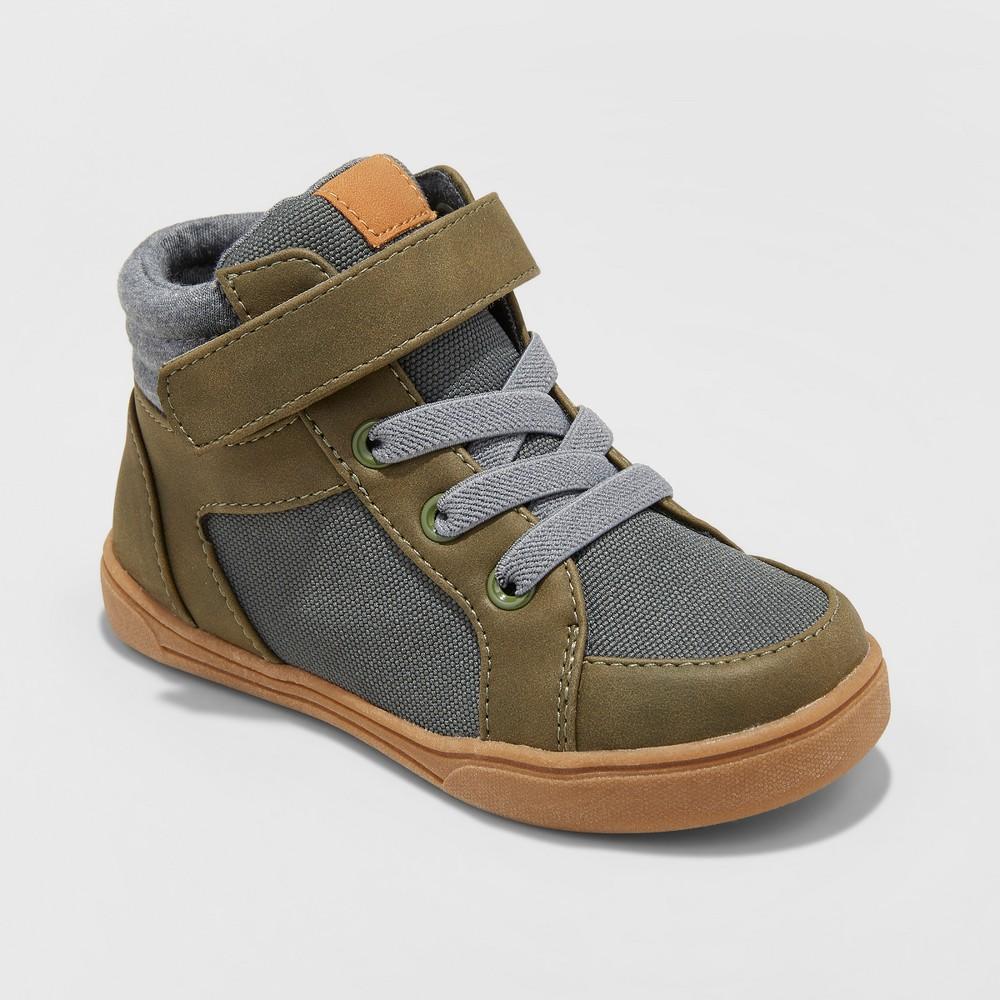 Toddler Boys' Arthur Casual Sneakers - Cat & Jack Dark Green 9