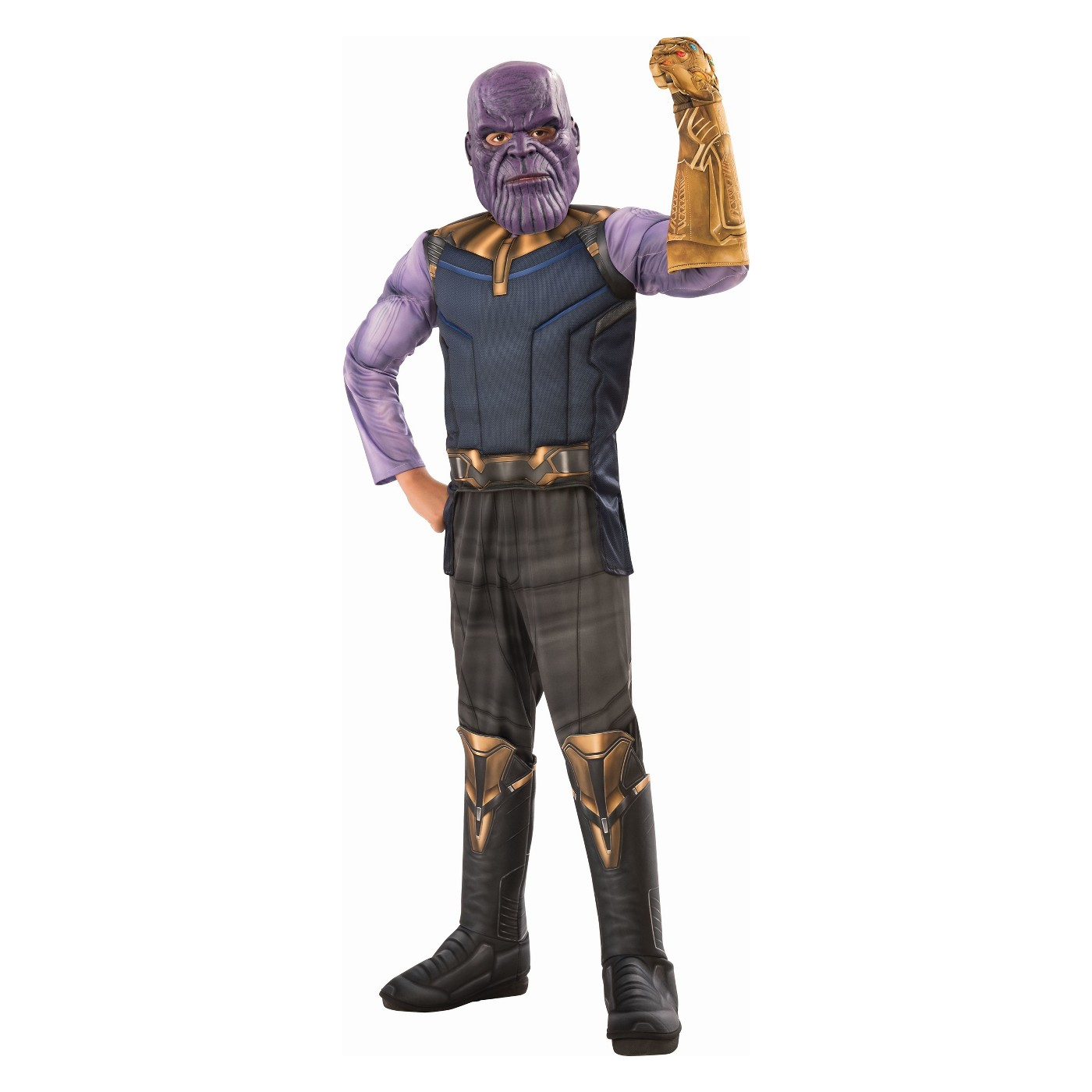 Boys' Marvel Thanos Avengers Deluxe Muscle Halloween Costume - image 1 of 1