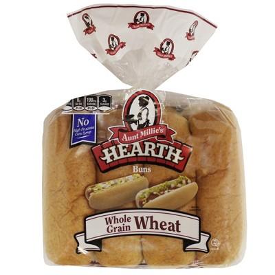 Aunt Millie's Whole Grain Wheat Hot Dog Buns - 15.5oz