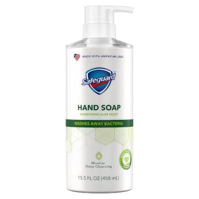 Safeguard Liquid Hand Soap Nourishing Aloe - 15.5 fl oz