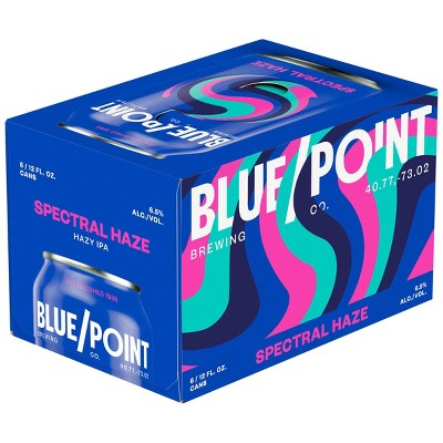 Blue Point The IPA Beer - 6pk/12 fl oz Cans