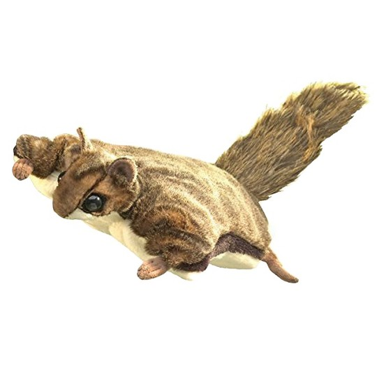 Folkmanis Flying Squirrel Hand Puppet image number null