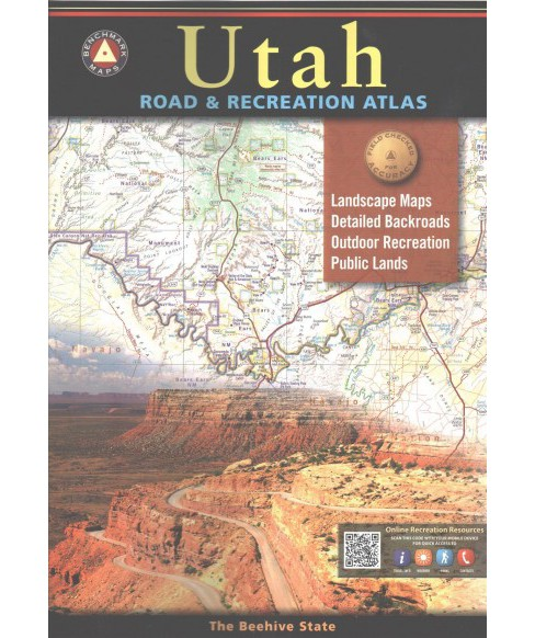 Benchmark Maps Utah Road & Recreation Atlas (Paperback) - image 1 of 1