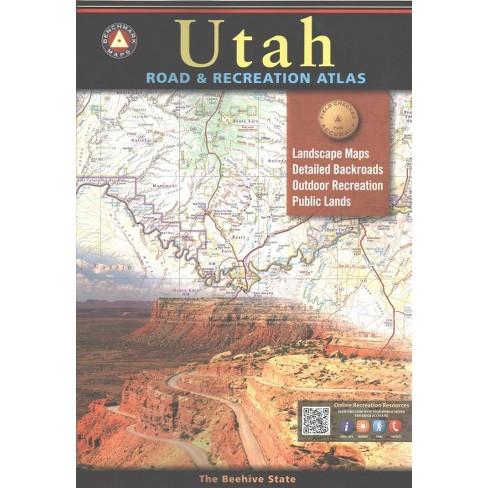 Benchmark Maps Utah Road Recreation Atlas Paperback Target