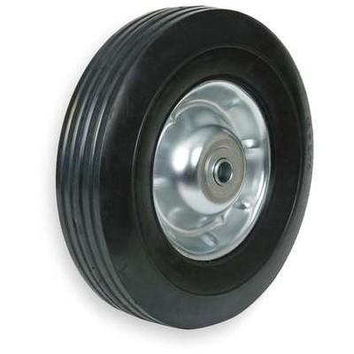ZORO SELECT 1NXA9 Semi-Pneumatic Wheel,10 in.,80 lb.