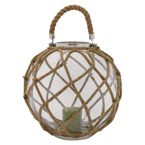 Buoy Lantern Nickel Plated Brass - Go Home® - image 1 of 1