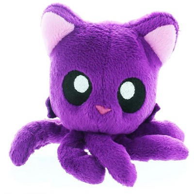 "Tentacle Kitty Little One 4"" Plush Plum"
