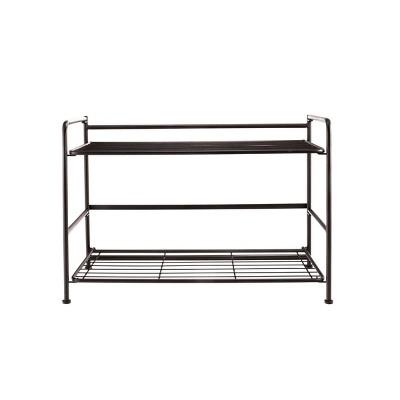 FlipShelf 2 Tier Wide Rounded Shelf