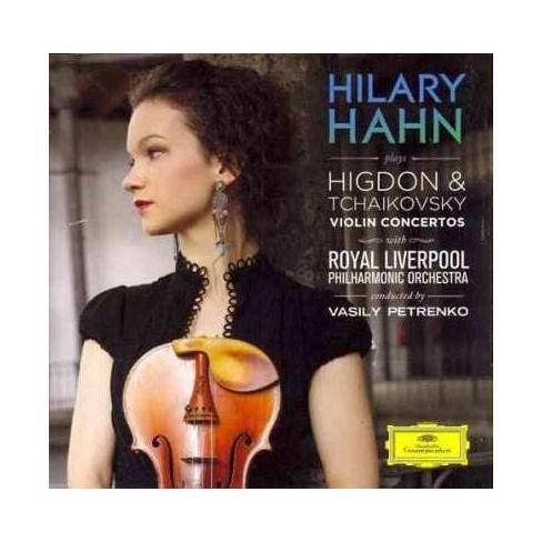 Hilary Hahn - Hilary Hahn Plays Higdon & Tchaikovsky Violin Concertos (CD) - image 1 of 1