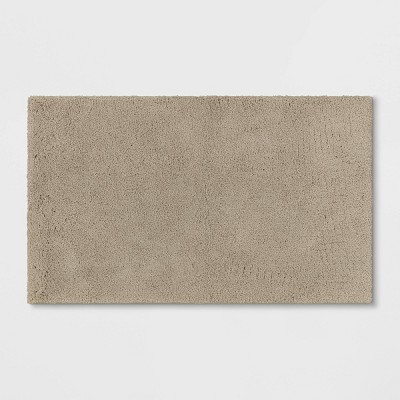 "24""x40"" Bath Rug Taupe - Threshold Signature™"