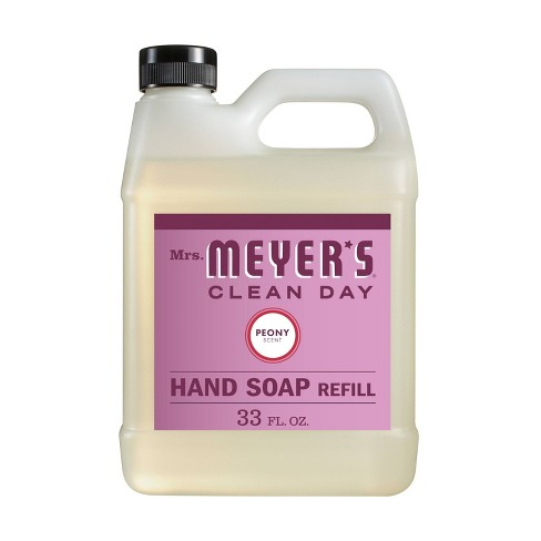 Mrs. Meyer's Peony Hand Soap Refill - 33 fl oz - image 1 of 3