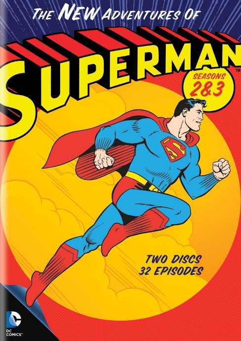 The New Adventures of Superman: Seasons 2 & 3 [2 Discs] - image 1 of 1