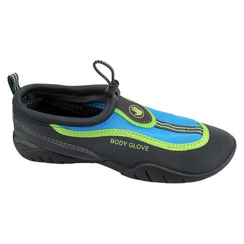 65af0b6ecf94 Women s Body Glove® Riptide III Water Shoes - Charcoal Heather Blue 8    Target