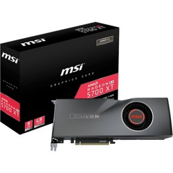 MSI Radeon RX 5700 XT 8G Radeon RX 5700 XT Graphic Card - 8 GB GDDR6 - 1.61 GHz Core - 256 bit Bus Width - DisplayPort - HDMI
