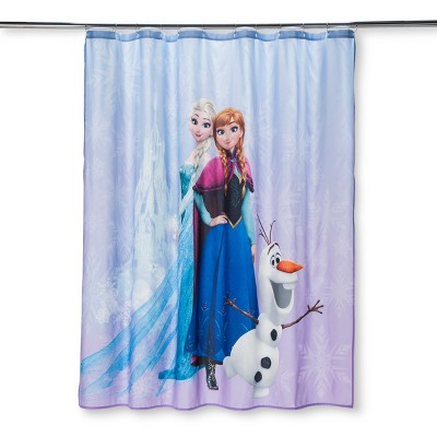 Disney® Frozen Purple Shower Curtain : Target