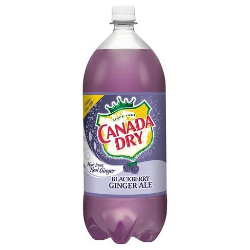 Canada Dry Blackberry Ginger Ale 2 L Bottle Target