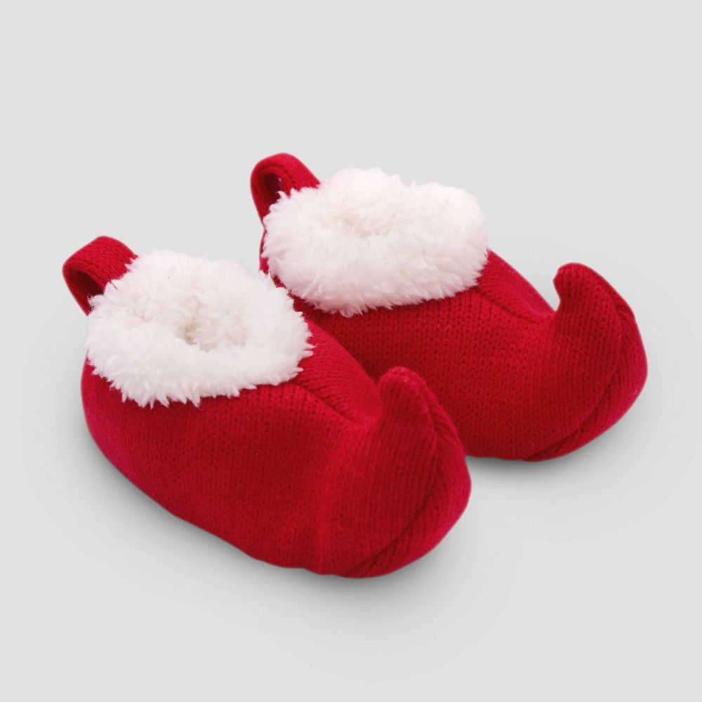 Image of Baby Constructed botties - Just One You made by carter's Red 0-3M, Kids Unisex, Size: Small