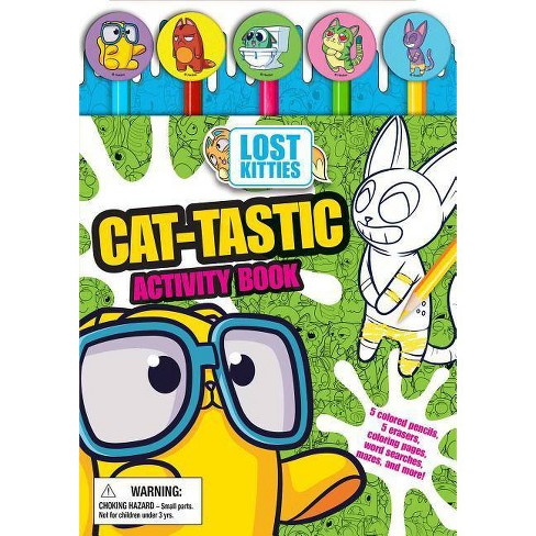 Hasbro Lost Kitties: Pencil Toppers - by  Maggie Fischer (Mixed media product) - image 1 of 1