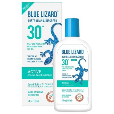 Sunscreen & Tanning: Blue Lizard Active
