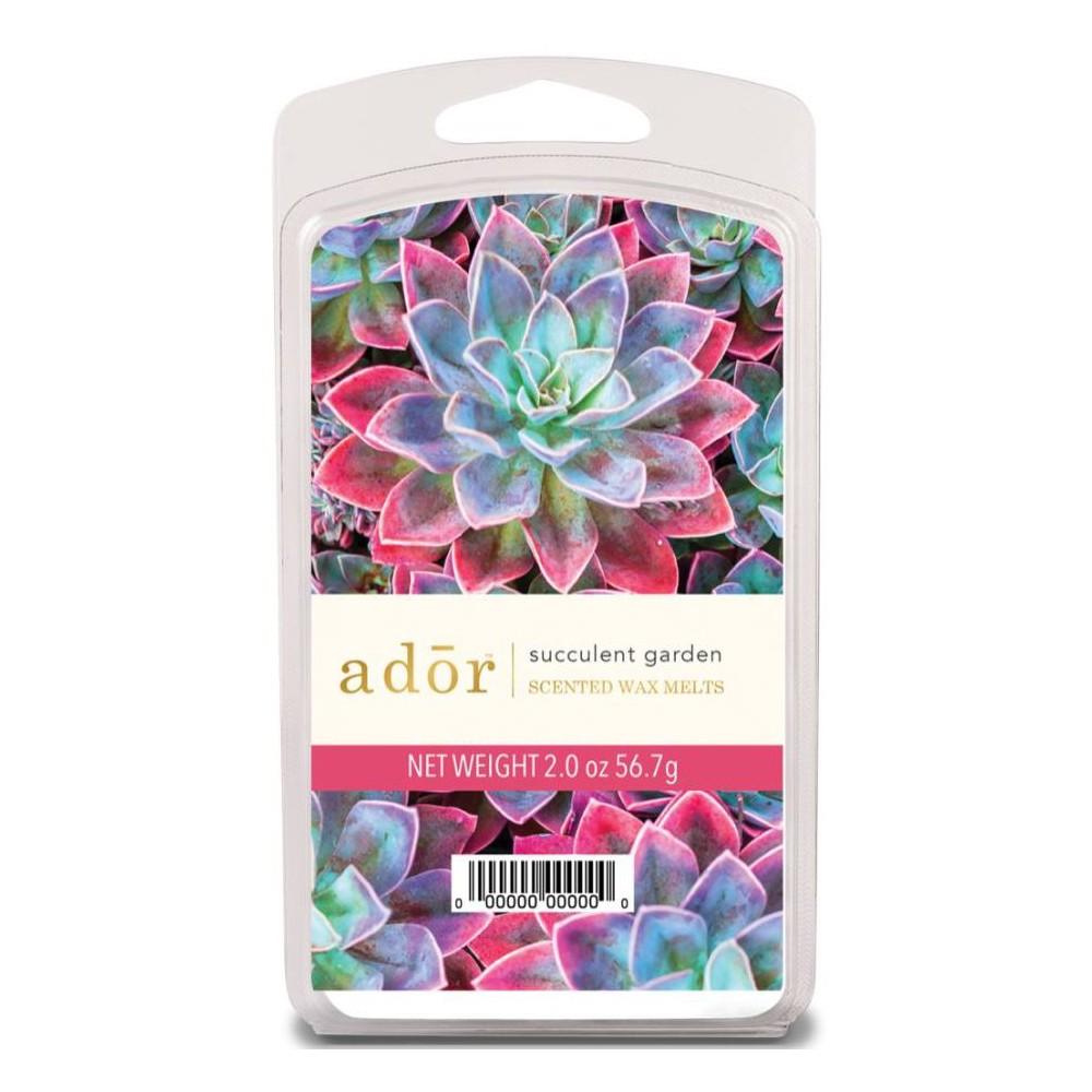Image of 2oz 6pk Wax Warmer Melts Succulent Garden - Ador, Pink