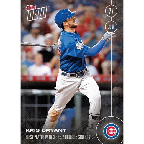 Topps Now Chicago Cubs Kris Bryant Mlb 2016 Card 186 Trading Card