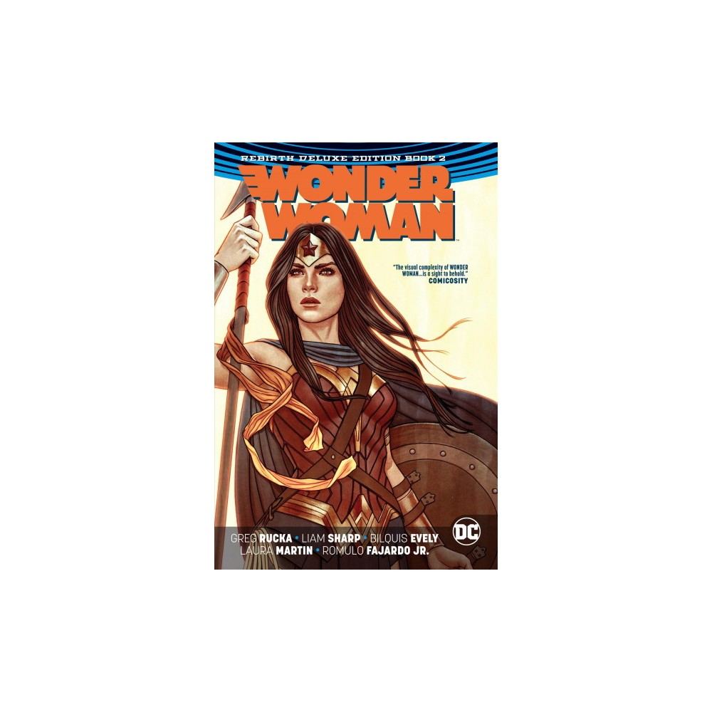 Wonder Woman the Rebirth 2 - Deluxe (Wonder Woman) by Greg Rucka (Hardcover)