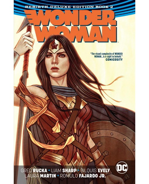 Wonder Woman the Rebirth 2 -  Deluxe (Wonder Woman) by Greg Rucka (Hardcover) - image 1 of 1