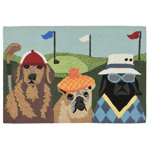 Frontporch Putts & Mutts Accent Rug - Liora Manne - image 1 of 4