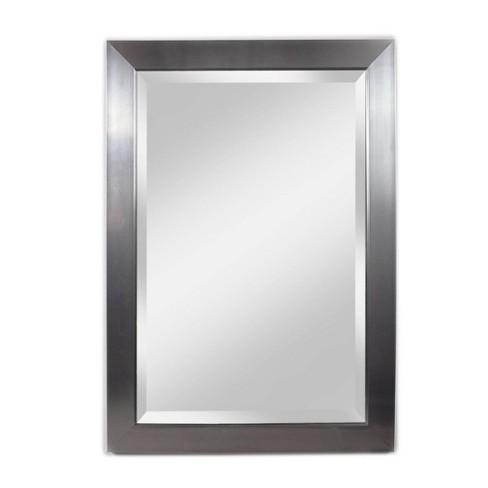 "29"" X 41"" Contempo Beveled Glass Wall Mirror Silver - Alpine Art & Mirror - image 1 of 4"