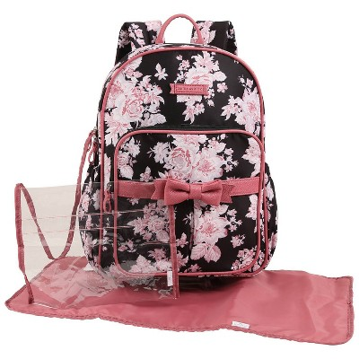 Laura Ashley Diaper Bag Backpack - Floral