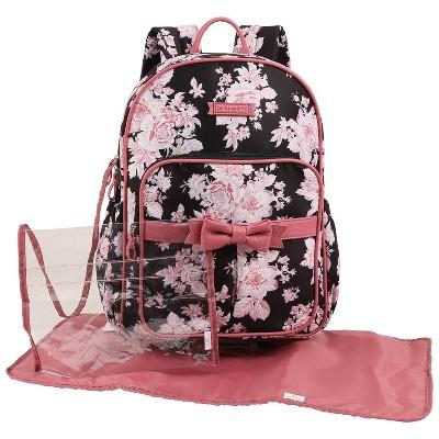 Laura Ashley Diaper Bag Backpack - Floral