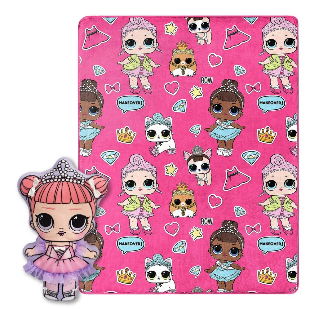 """Image of """"L.O.L. Surprise! 40""""""""x50"""""""" Throw Blanket"""""""