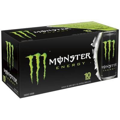 Monster Energy, Original - 10pk/16 fl oz Cans