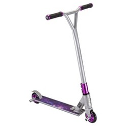 Mongoose Stance Elite Scooter - Gray/Purple