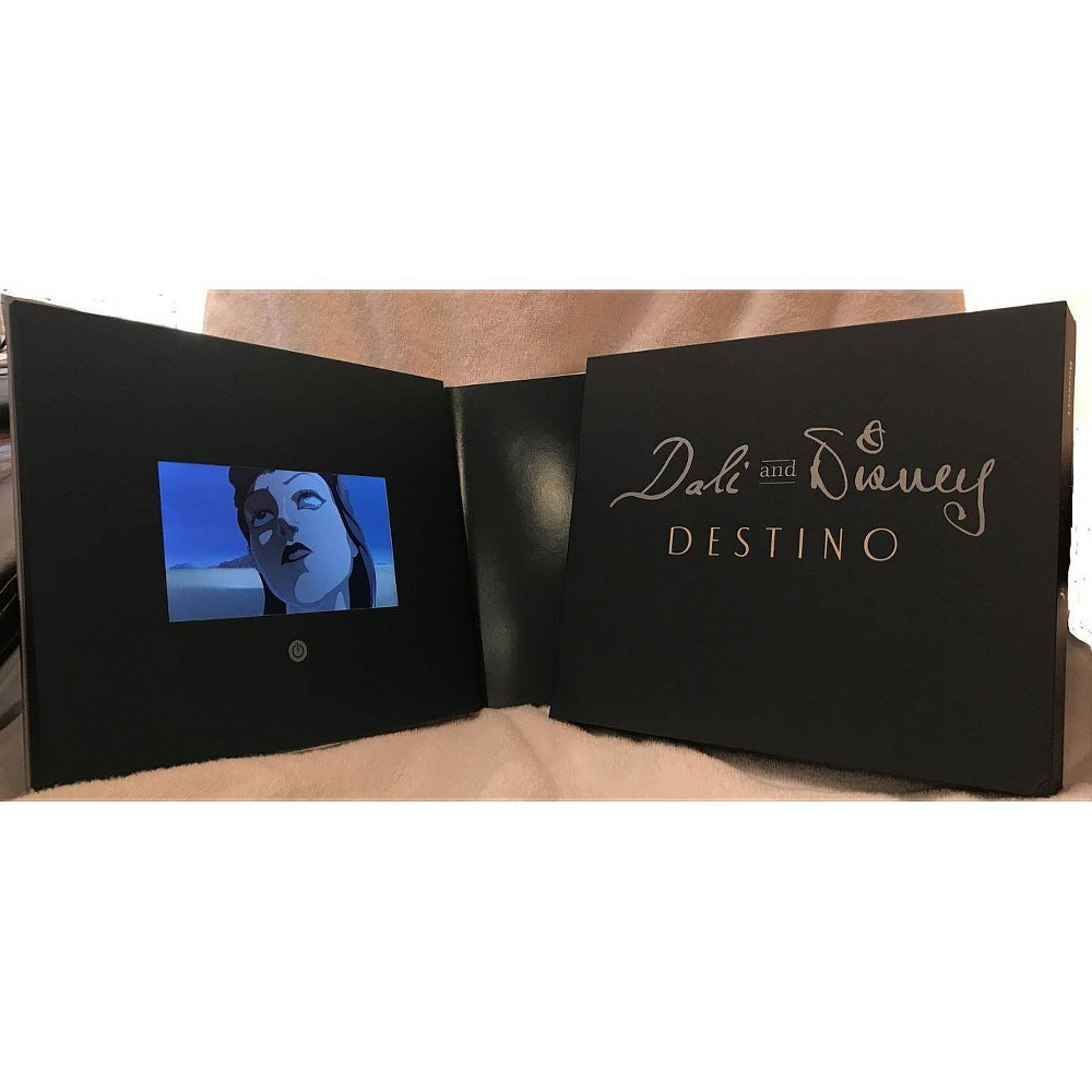 Dali and Disney: Destino (Limited Edition) - by David A Bossert (Hardcover)