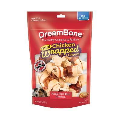 Dreambone Chicken Wrapped Mini Bones - 16ct
