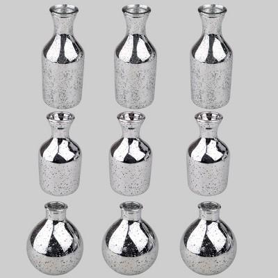 9ct Bud Vases Silver - Bullseye's Playground™