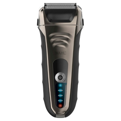 Wahl Smart Shave Lithium Ion Men's Shaver With Trimmer, Battery Meter and Quick Charge - 7061-900 - image 1 of 3