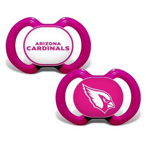 NFL Arizona Cardinals Pink Pacifiers 2pk - image 1 of 1