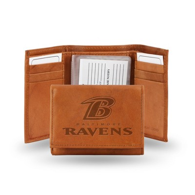 NFL Rico Industries Embossed Leather Trifold Wallet