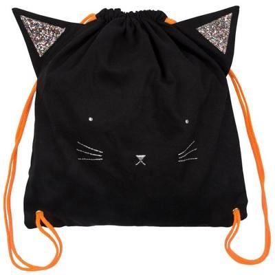 Meri Meri - Black Cat Back Pack - Backpacks - 1ct