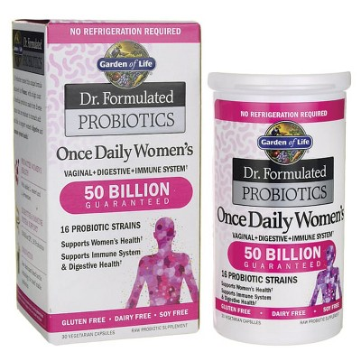Garden of Life Probiotics Dr. Formulated Probiotics Once Daily Women's 50 Billion Cfu Capsule 30ct