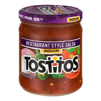 Salsas & Dips: Tostitos Restaurant Style Salsa